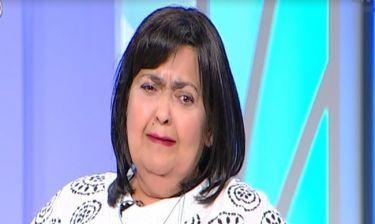 Λύγισε η Μπετίνη on air όταν μίλησε για τον όγκο στο κεφάλι