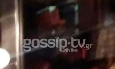 Βλάχος-Τριανταφυλλίδου: Τους τσακώσαμε. Καυτά φιλιά σε βραδινή έξοδο (Nassos blog)