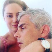 Άντα Λιβιτσάνου: Η «τρυφερή» φωτογραφία που «ανέβασε» αγκαλιά με τον άντρα της