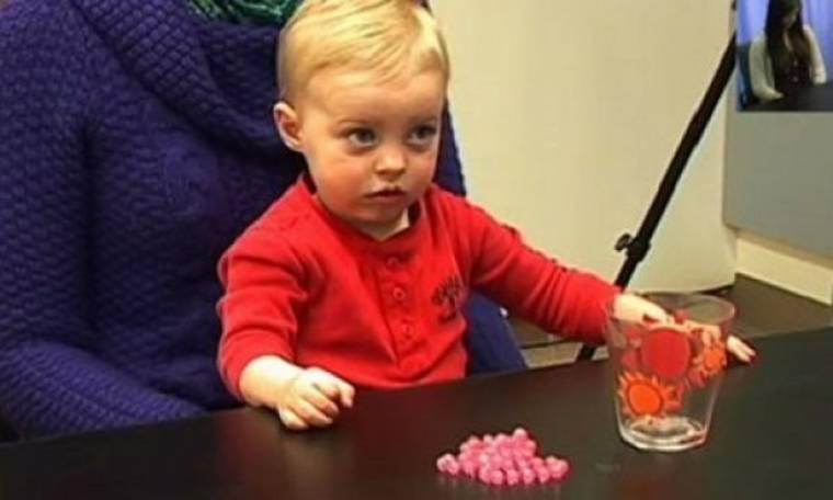Δείτε πως αντιδρά ένα μωρό στις φωνές και το θυμό (βίντεο)