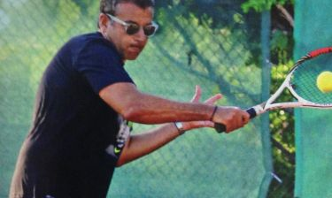 Γιώργος Λιάγκας: Άφησε το κολύμπι και άρχισε το τέννις