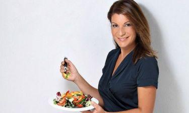 Αργυρώ Μπαρμπαρίγου: «Η ασχολία με τη μαγειρική λειτουργεί αγχολυτικά»
