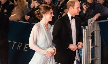 Πρίγκιπας William - Kate Middleton: Στην πρεμιέρα του James Bond