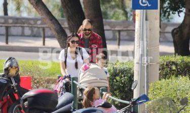 Οικογενειακή βόλτα για Σπανούλη-Χοψονίδου