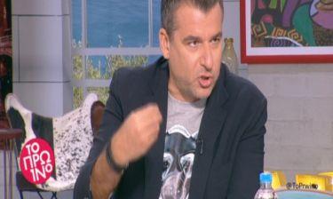 Λιάγκας: «Είμαι κατά των παρελάσεων. Τα απολυταρχικά καθεστώτα κάνουν επίδειξη δύναμης με το στρατό»