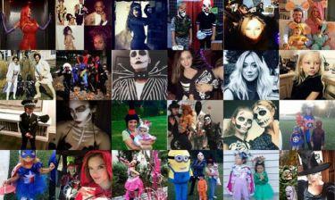 Έτσι γιόρτασαν οι Έλληνες και ξένοι διάσημοι το Halloween (εικόνες)