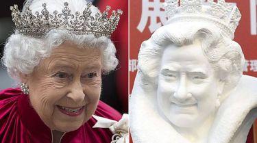 Κινέζος τρόλαρε την Βασίλισσα Ελισάβετ. Την έκανε να μοιάζει με τον Tom Hanks