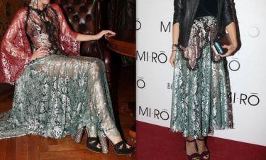Όταν δύο Ελληνίδες celebs φόρεσαν την ίδια φούστα! Ποια τη φόρεσε καλύτερα;