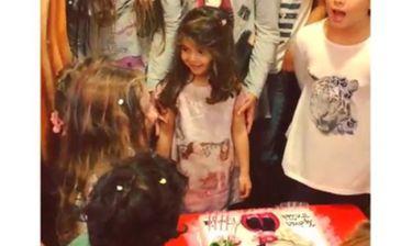 Η κόρη τους έγινε 4 και κάνουν πάρτι