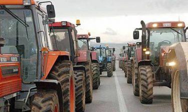 Δυναμικό αγροτικό συλλαλητήριο στον Τύρναβο - Κατέβηκαν τα τρακτέρ στην πόλη