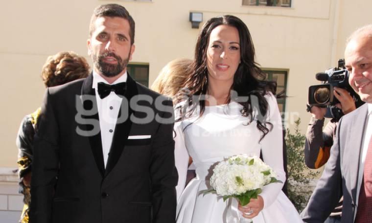 Γαμπρός ο Θανάσης Βισκαδουράκης - Όλα όσα έγιναν στον γάμο του με την Κατερίνα (φωτό)