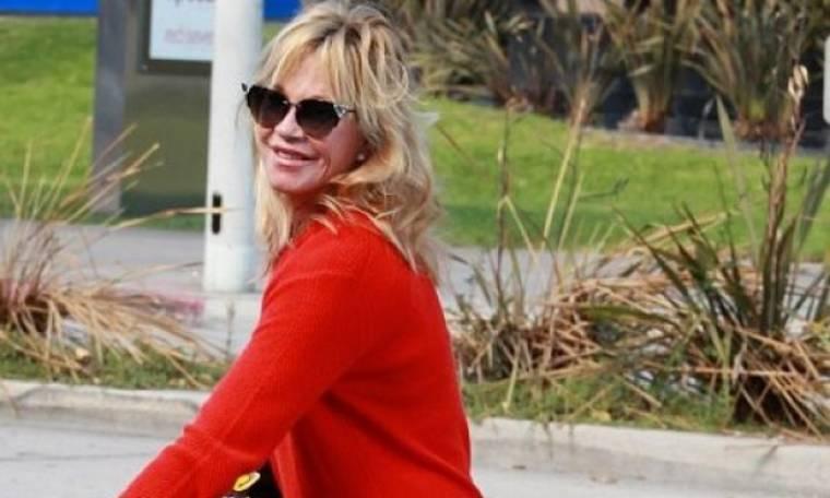 Εύγε, Melanie Griffith: Στα 58 της φορά κολάν και μας αφήνει άφωνες με το κορμί της