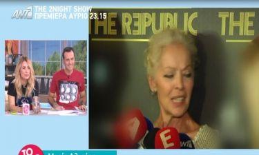 Μαρία Αλιφέρη: «Ασφαλώς θα ξαναέκανα εκπομπή στην τηλεόραση»