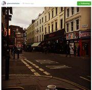 Γιάννης Λάτσιος: To ταξίδι του στο Λονδίνο (φωτό)