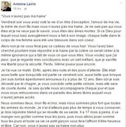 Η «συγκινητική» επιστολή Γάλλου δημοσιογράφου, που έχασε την γυναίκα του στη σφαγή του Bataclan