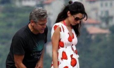 Οι προετοιμασίες της Amal Alamuddin και του George Clooney για το μωρό τους