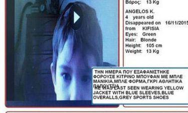 Βρέθηκε σώος ο 4χρονος που είχε χαθεί στην Κηφισιά