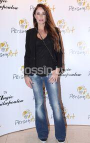 Η Άντζυ Ανδριτσοπούλου παρουσίασε τα κοσμήματά της