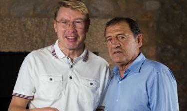 Ο δύο φορές παγκόσμιος πρωταθλητής Formula 1 Φινλανδός Μίκα Χάκινεν στο Traction