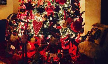 Δείτε το χριστουγεννιάτικο δέντρο της Τζένης Μπαλατσινού!