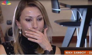 Νίκη Ξάνθου: Λύγισε όταν μίλησε για τον πρόσφατο θάνατο του πατέρα της στην Κουτσελίνη