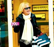 Αγγελική Νικολούλη: Για ψώνια πριν την πρεμιέρα της