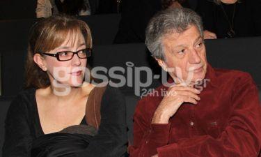 Φέρτης: Με την σύζυγό του στο θέατρο
