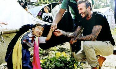 Ο David Beckham από την Παπούα μέχρι το Νεπάλ για τα παιδιά του κόσμου!