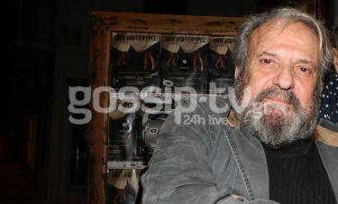 Συγκλονιστικό: Ο Χατζησάββας στην τελευταία του έξοδο, μόλις δύο ημέρες πριν το εγκεφαλικό! (φωτό)