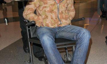 Πασίγνωστος ηθοποιός σε αναπηρικό καροτσάκι - Τι του συνέβη;