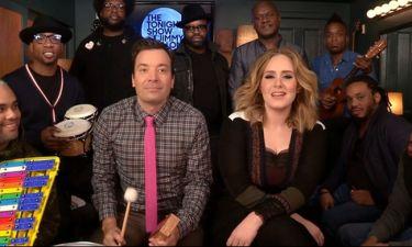 Όταν η Adele συνάντησε τον Jimmy Fallon