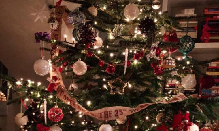 Ποια ακόμη επώνυμη στόλισε χριστουγεννιάτικο δέντρο;