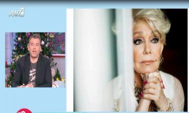 Χαμός στο Πρωινό με συνέντευξη της Μαρινέλλας – Τι είπε ο Λιάγκας ξανά για τους αμόρφωτους στην tv!