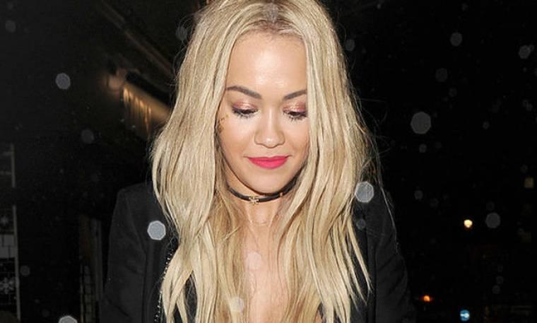 Το sexy ατύχημα της Rita Ora