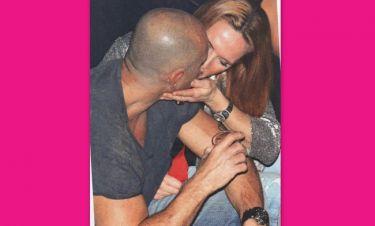 Τα παθιασμένα φιλιά ζευγαριού της ελληνικής showbiz (φωτό)