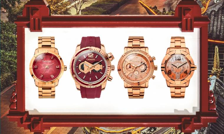 BREEZE Watches: Red Hot Vibes!