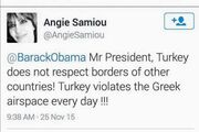 Το viral της εβδομάδας: Πασίγνωστη Ελληνίδα τραγουδίστρια έκανε tweet στον Ομπάμα!