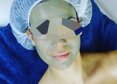 Μην τρομάξετε! Το γνωστό μοντέλο αποφάσισε να κάνει μάσκα ομορφιάς!
