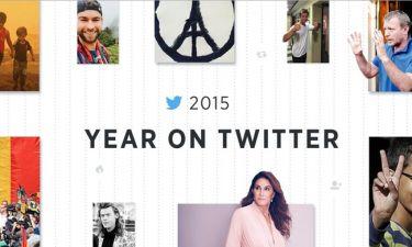 Η ανασκόπηση του twitter για το 2015