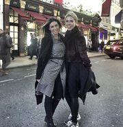 Αθηνά Οικονομάκου: Το ταξίδι της στο Λονδίνο