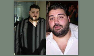 Έλληνας τραγουδιστής έχασε 110 κιλά και έγινε αγνώριστος
