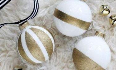 Φτιάξε αυτές τις χριστουγεννιάτικες μπάλες μέσα σε λίγα μόλις λεπτά!