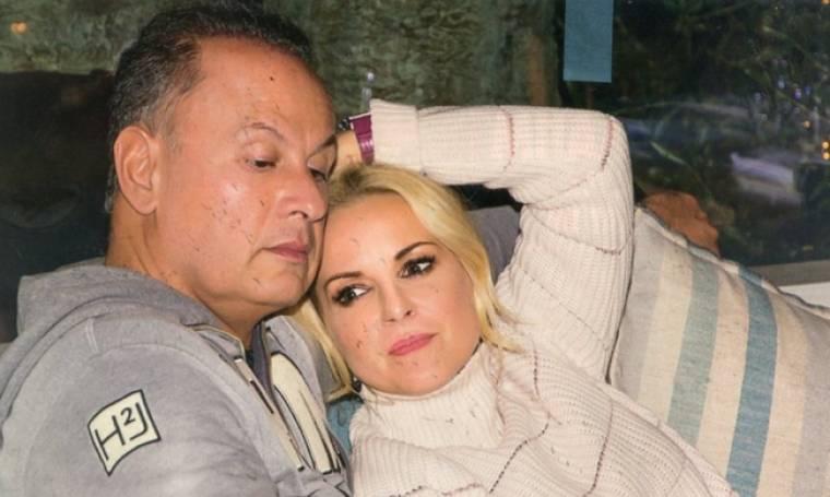 Μαρία Μπεκατώρου: Χαλαρές στιγμές με τον σύζυγό της