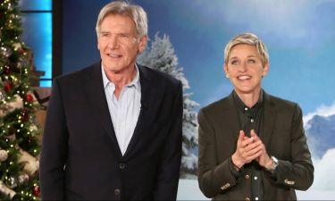 Η αποκάλυψη του Harrison Ford που άφησε άφωνη την DeGeneres