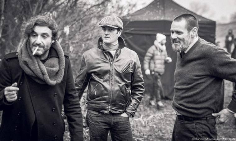 Ο Jim Carrey στον φακό του Αλέξανδρου Αβρανά