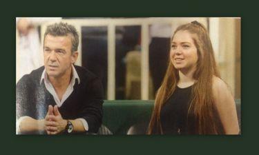 Δημήτρης Σαραβάκος: Με την κόρη του στο γήπεδο