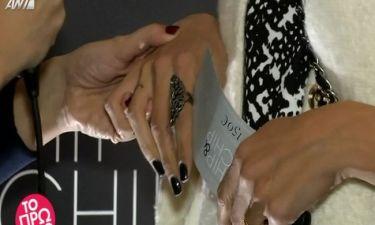 Έκανε τατουάζ το αρχικό του συζύγου της και δηλώνει: «Δεν θα χωρίσουμε ποτέ»