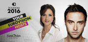 Αυτοί θα παρουσιάσουν τη φετινή eurovision στη Στοκχόλμη