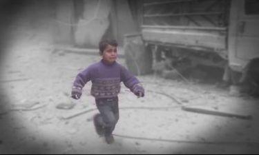 Βίντεο σοκ: Η αιματηρή καθημερινότητα ενός παιδιού στη Ντούμα