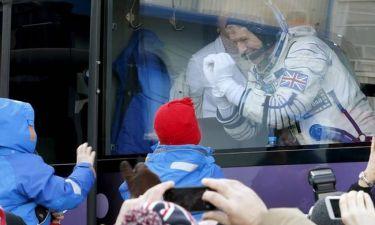 Ο αστροναύτης Τιμ Πικ γράφει ιστορία